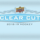 2018-19 Upper Deck Clear Cut Hockey Cards