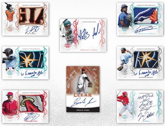 2018 Leaf Trinity Baseball Cards 1