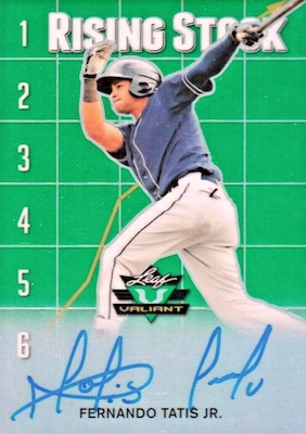 2018 Leaf Valiant Baseball Cards 2
