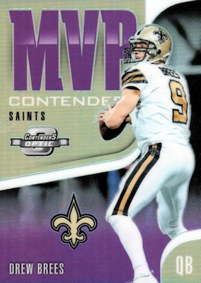 2018 Panini Contenders Optic Football Cards - Final SP/SSP Print Runs 32