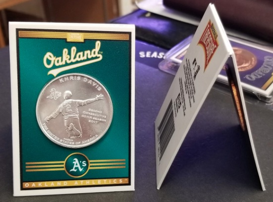 2019 Baseball Treasure II MLB Coins 2