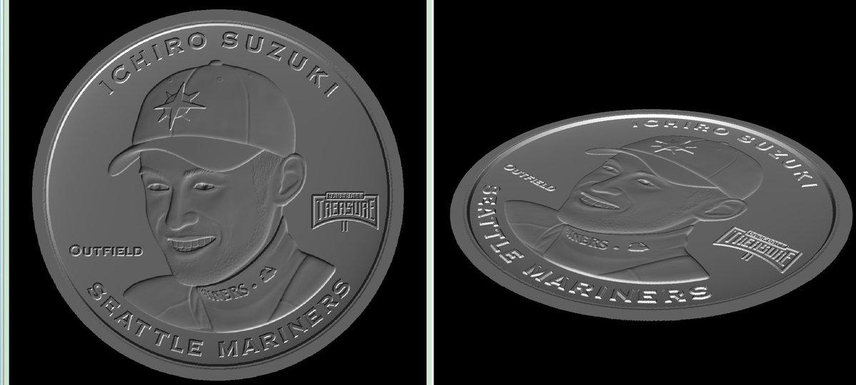 2019 Baseball Treasure II MLB Coins 1