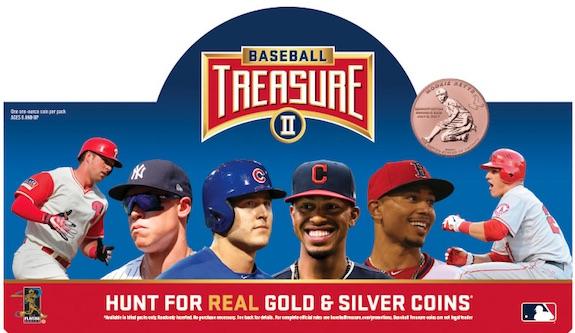 2019 Baseball Treasure II MLB Coins 3