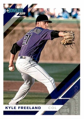 2019 Donruss Baseball Variations Guide 39