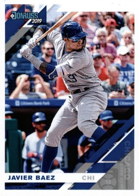 2019 Donruss Baseball Variations Guide 57