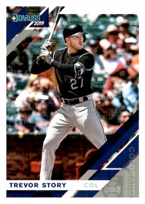 2019 Donruss Baseball Variations Guide 73
