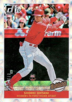 2019 Donruss Baseball Cards 45