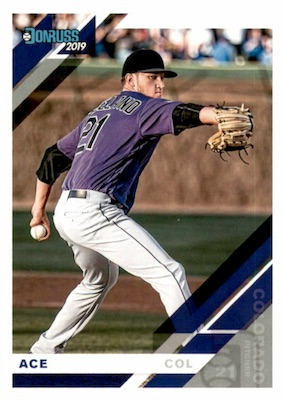 2019 Donruss Baseball Variations Guide 40
