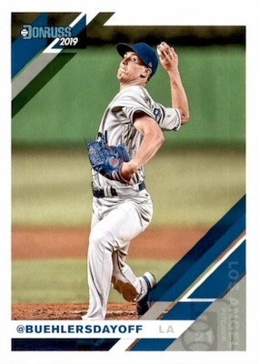 2019 Donruss Baseball Cards 27