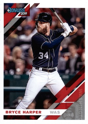 2019 Donruss Baseball Variations Guide 72