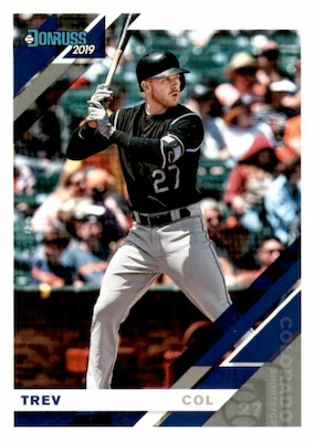 2019 Donruss Baseball Variations Guide 74
