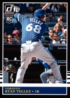 2019 Donruss Baseball Variations Guide 98