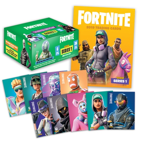 2019 Panini Fortnite Series 1 Trading Cards 5