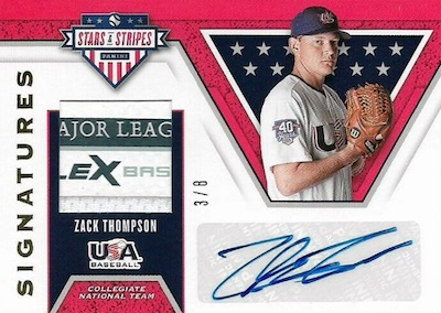 2019 Panini Stars & Stripes USA Baseball Cards 27