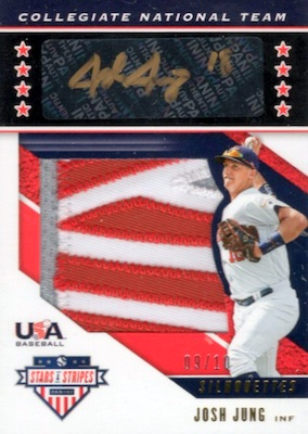2019 Panini Stars & Stripes USA Baseball Cards 5