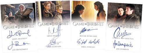 2019 Rittenhouse Game of Thrones Inflexions Trading Cards 2