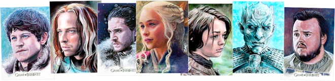 2019 Rittenhouse Game of Thrones Inflexions Trading Cards 5