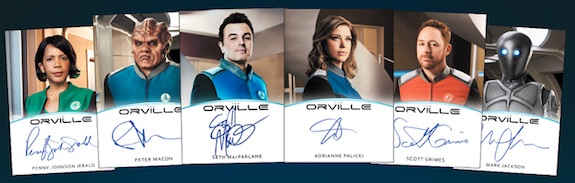 2019 Rittenhouse The Orville Season 1 Trading Cards 4