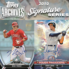2019 Topps Archives Signature Series Active
