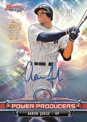 2019 Topps Archives Signature Series Active Player Edition Baseball Cards 1
