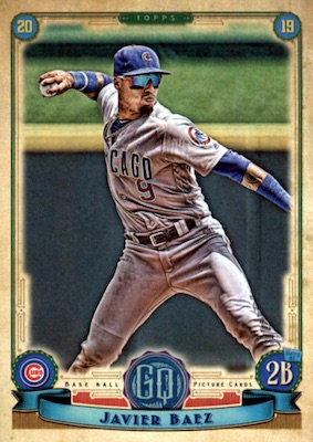 2019 Topps Gypsy Queen Baseball Variations Guide 40