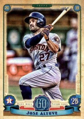 2019 Topps Gypsy Queen Baseball Variations Guide 42