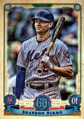 2019 Topps Gypsy Queen Baseball Variations Guide 50