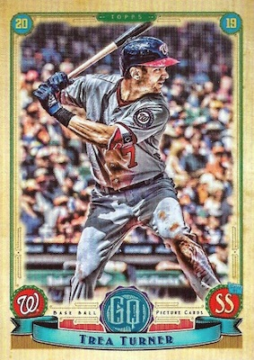 2019 Topps Gypsy Queen Baseball Variations Guide 54