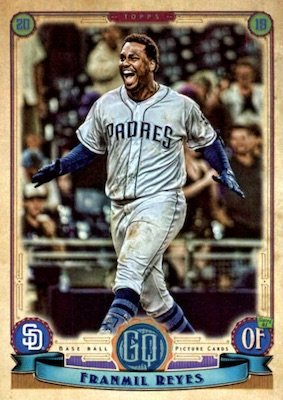 2019 Topps Gypsy Queen Baseball Variations Guide 115