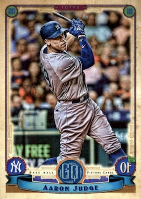 2019 Topps Gypsy Queen Baseball Variations Guide 58