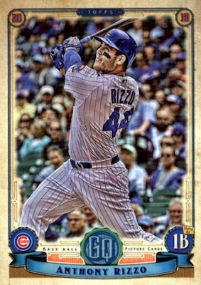 2019 Topps Gypsy Queen Baseball Variations Guide 16