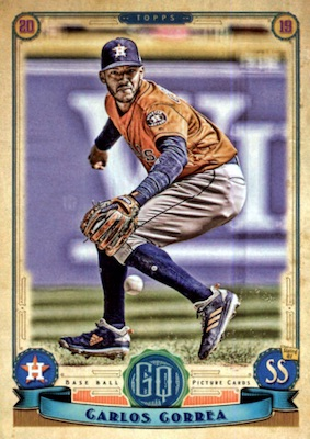 2019 Topps Gypsy Queen Baseball Variations Guide 20