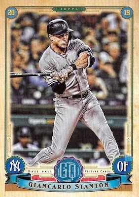 2019 Topps Gypsy Queen Baseball Variations Guide 11