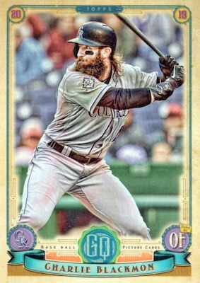 2019 Topps Gypsy Queen Baseball Variations Guide 13