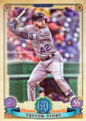 2019 Topps Gypsy Queen Baseball Variations Guide 39