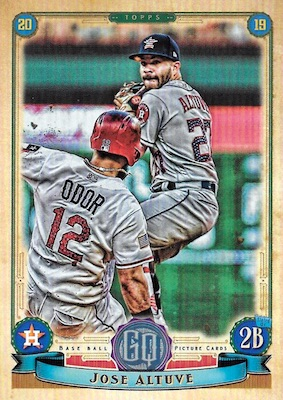 2019 Topps Gypsy Queen Baseball Variations Guide 155