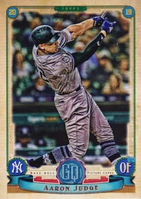 2019 Topps Gypsy Queen Baseball Variations Guide 59