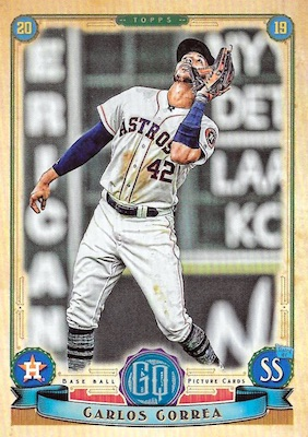 2019 Topps Gypsy Queen Baseball Variations Guide 21