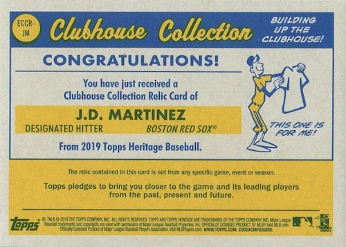 2019 Topps Heritage Chrome Mega Box Baseball Cards 3