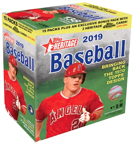 2019 Topps Heritage Chrome Mega Box Baseball Cards 4