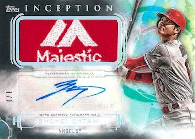 2019 Topps Inception Baseball Cards 7