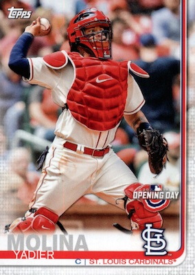 2019 Topps Opening Day Baseball Variations Guide 41