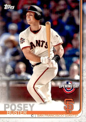 2019 Topps Opening Day Baseball Variations Guide 43