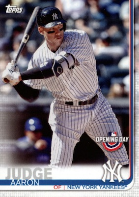 2019 Topps Opening Day Baseball Variations Guide 3