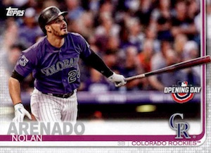2019 Topps Opening Day Baseball Variations Guide 9