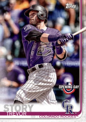 2019 Topps Opening Day Baseball Variations Guide 13