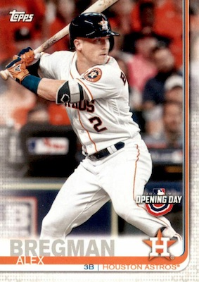 2019 Topps Opening Day Baseball Variations Guide 31