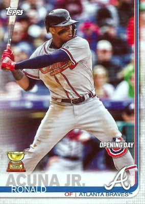 2019 Topps Opening Day Baseball Variations Guide 25