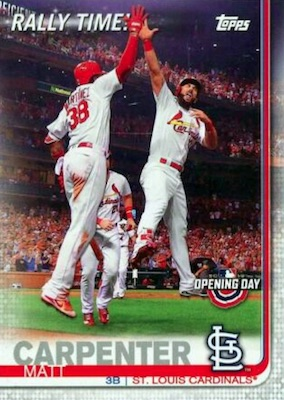 2019 Topps Opening Day Baseball Cards 34