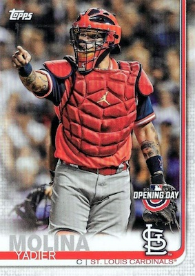 2019 Topps Opening Day Baseball Variations Guide 42